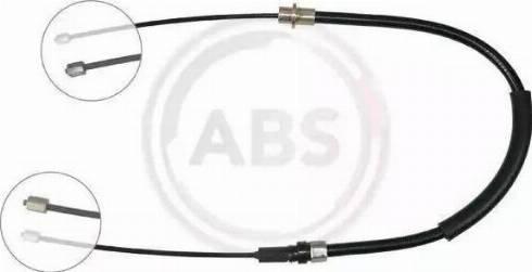 A.B.S. K17097 - Cable, parking brake www.parts5.com