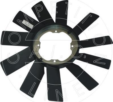 AIC 51863 - Fan Wheel, engine cooling www.parts5.com