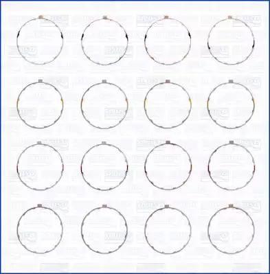 Ajusa 60001300 - O-Ring Set, cylinder sleeve www.parts5.com