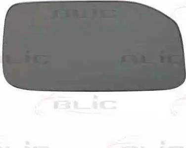BLIC 6102010947P - Mirror Glass, outside mirror www.parts5.com