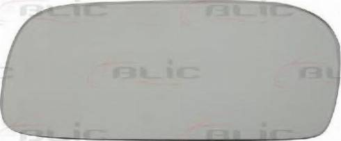 BLIC 6102011157P - Mirror Glass, outside mirror www.parts5.com