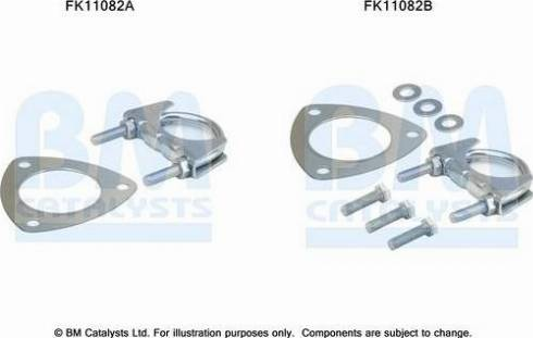 BM Catalysts FK11082 - Mounting Kit, soot filter www.parts5.com