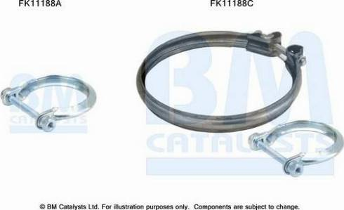 BM Catalysts FK11188 - Mounting Kit, soot filter www.parts5.com
