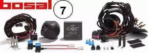 Bosal 022004 - Electric Kit, towbar www.parts5.com