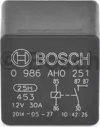 BOSCH 0986AH0251 - Relay, cooling fan www.parts5.com