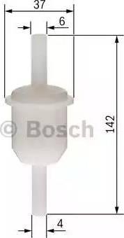 BOSCH 0 450 904 149 - Fuel filter www.parts5.com