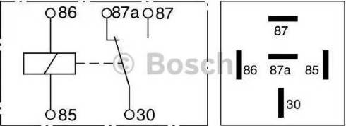 BOSCH 0332209150 - Multifunctional Relay www.parts5.com