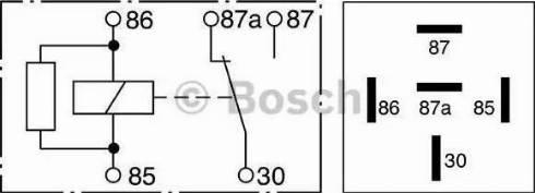 BOSCH 0332209206 - Relay, ABS www.parts5.com