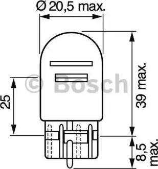 BOSCH 1987302252 - Bulb, park-/position light www.parts5.com