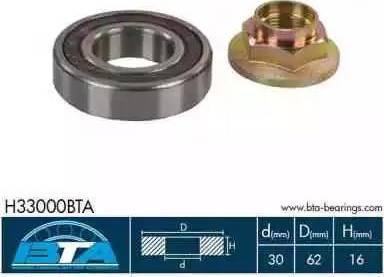 BTA H33000BTA - Intermediate Bearing, drive shaft www.parts5.com