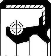 Corteco 12011144B - Shaft Seal, auxiliary drive www.parts5.com