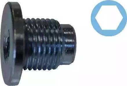 Corteco 407711H - Seal, oil drain plug www.parts5.com