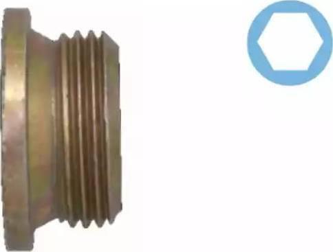 Corteco 005501H - Seal, oil drain plug www.parts5.com