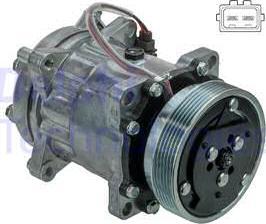 Delphi CS20491 - Compressor, air conditioning www.parts5.com
