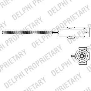 Delphi ES1096612B1 - Lambda Sensor www.parts5.com