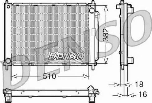 Denso DRM23100 - Cooler Module www.parts5.com