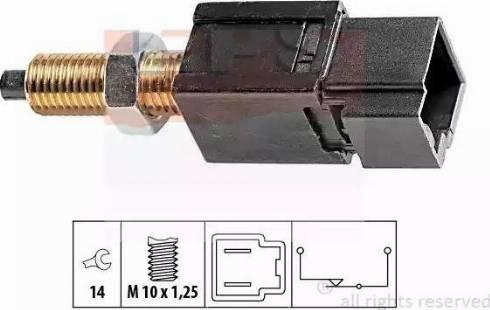 EPS 1810052 - Switch, clutch control (cruise control) www.parts5.com