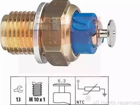 EPS 1830093 - Sensor, oil temperature www.parts5.com