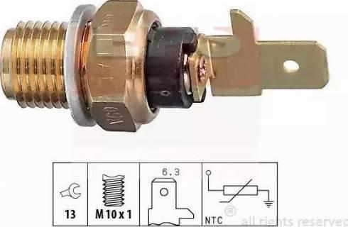 EPS 1830154 - Sensor, oil temperature www.parts5.com