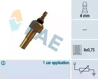 FAE 32140 - Sensor, coolant temperature www.parts5.com