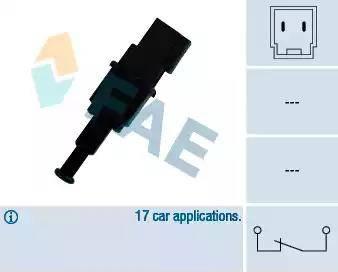 FAE 24490 - Brake Light Switch www.parts5.com