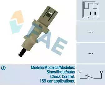 FAE 24400 - Brake Light Switch www.parts5.com