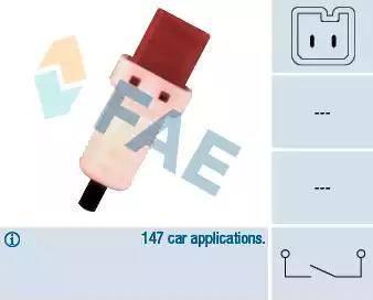 FAE 24896 - Switch, clutch control (cruise control) www.parts5.com