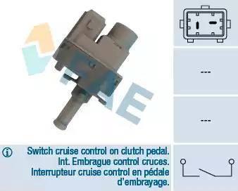 FAE 24830 - Switch, clutch control (cruise control) www.parts5.com