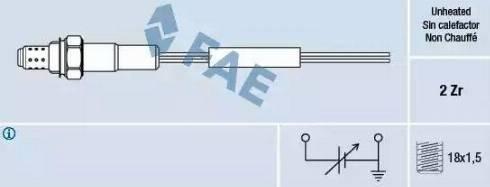FAE 77002 - Lambda Sensor off www.parts5.com