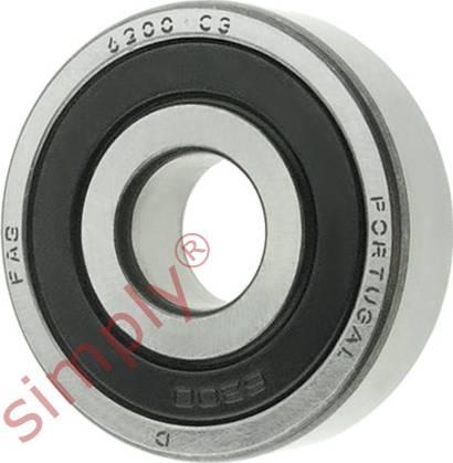 FAG 62002RSRC3 - Alternator Freewheel Clutch www.parts5.com