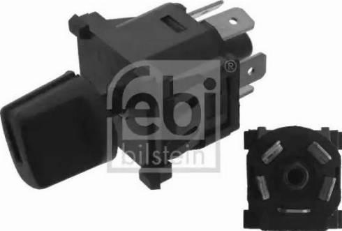 Febi Bilstein 45623 - Blower Switch, heating/ventilation www.parts5.com