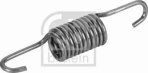 Febi Bilstein 19324 - Tension Spring, tensioner pulley (timing belt) www.parts5.com