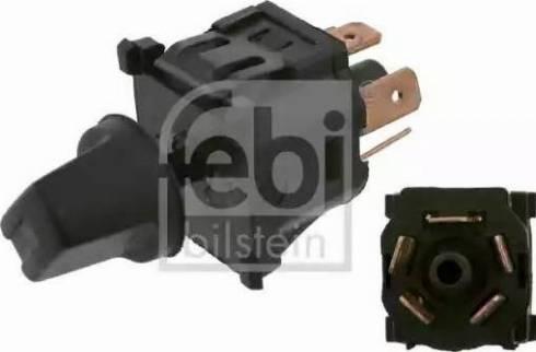 Febi Bilstein 14078 - Blower Switch, heating/ventilation www.parts5.com
