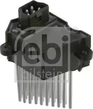 Febi Bilstein 24617 - Control Unit, air conditioning www.parts5.com