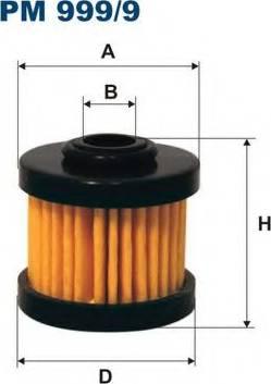 Filtron PM9999 - Fuel filter www.parts5.com