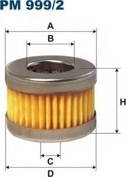 Filtron PM9992 - Fuel filter www.parts5.com