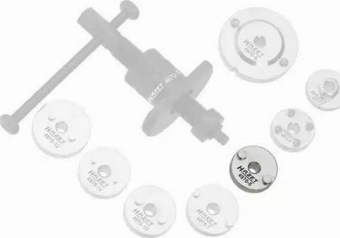 HAZET 49705 - Turn / Reset Tool, brake caliper piston www.parts5.com
