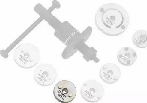 HAZET 497010 - Turn / Reset Tool, brake caliper piston www.parts5.com