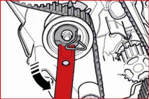 KS Tools 4009010 - Spanner, timing belt tension www.parts5.com