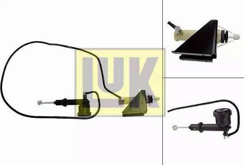 LUK 513002610 - Master / Slave Cylinder Kit, clutch www.parts5.com