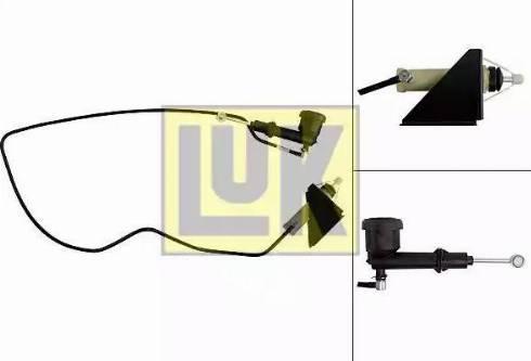 LUK 513002710 - Master / Slave Cylinder Kit, clutch www.parts5.com