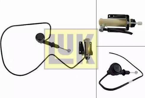 LUK 513007110 - Master / Slave Cylinder Kit, clutch www.parts5.com