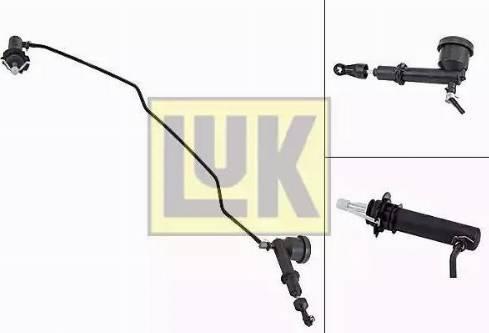 LUK 513007710 - Master / Slave Cylinder Kit, clutch www.parts5.com