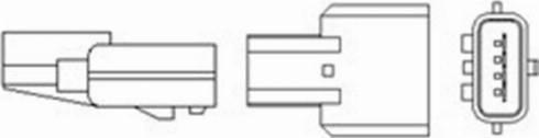 Magneti Marelli 466016355104 - Lambda Sensor www.parts5.com