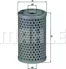 Mahle Original HX15 - Hydraulic Filter, steering system www.parts5.com