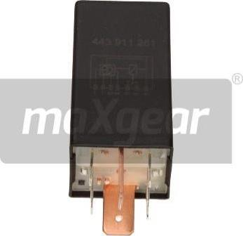 Maxgear 500007 - Control Unit, glow plug system www.parts5.com