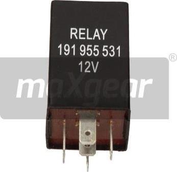 Maxgear 500010 - Relay, wipe-/wash interval www.parts5.com