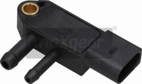 Maxgear 210345 - Sensor, exhaust pressure www.parts5.com