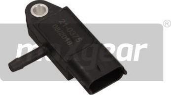 Maxgear 210375 - Sensor, exhaust pressure www.parts5.com