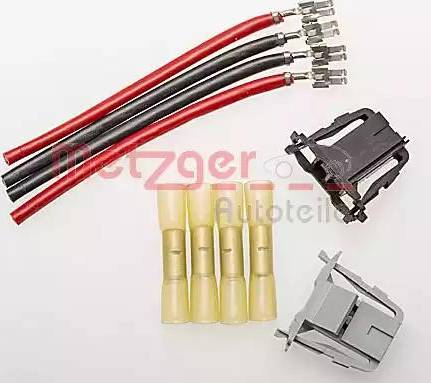 Metzger 2322021 - Cable Repair Set, interior heating fan, (eng. preheat sys.) www.parts5.com